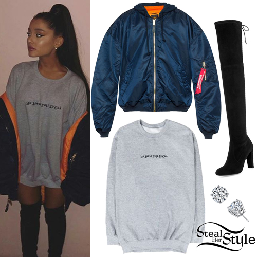86b8efcfd Ariana Grande's Clothes & Outfits | Steal Her Style | Page 5