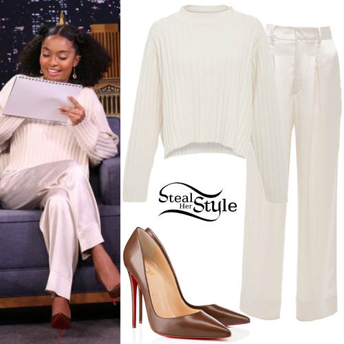 Yara Shahidi Clothes & Outfits | Steal Her Style