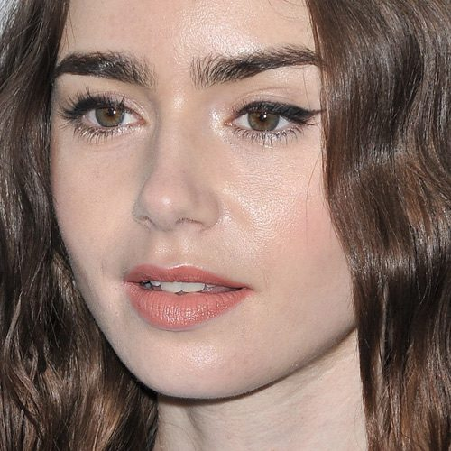 Lily Collins Makeup Photos Products