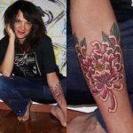 Asia Argento Tattoos