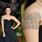 Daniella Pineda Tattoos