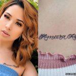 Jasmine Villegas Tattoos
