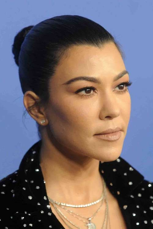 kourtney kardashians hairstyles amp hair colors steal her