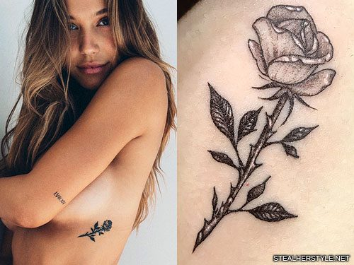 Alexis Ren's 11 Tattoos & Meanings | Steal Her Style