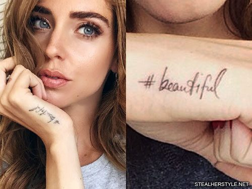 111 celebrity tattoos by dr woo page 3 of 12 steal her style chiara ferragni gumiabroncs Images