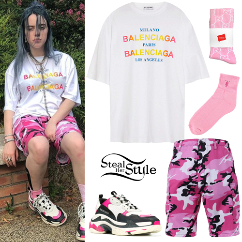 Billie Eilish Shorts And Shirt Off 71 Free Shipping