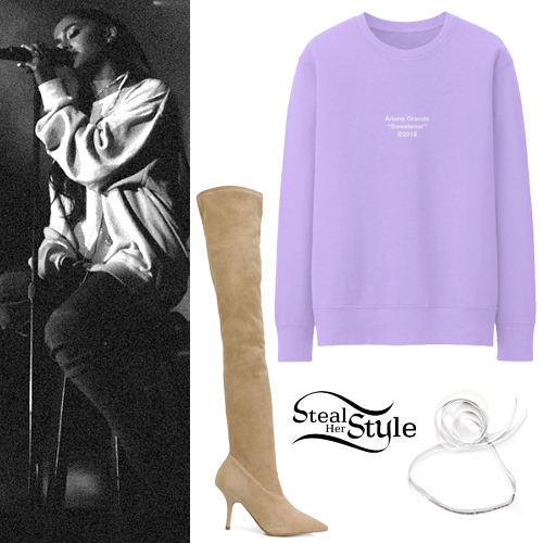 654cb10099cd Ariana Grande's Clothes & Outfits | Steal Her Style | Page 3