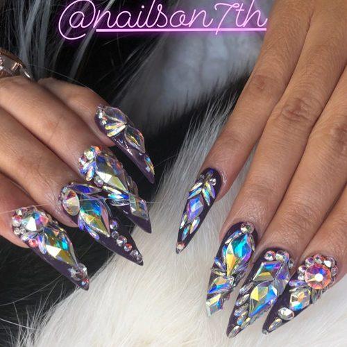 Cardi B S Nail Polish Amp Nail Art Steal Her Style