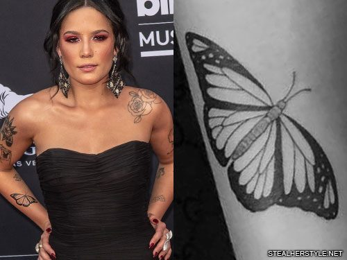 Halsey S 29 Tattoos Meanings Steal Her Style