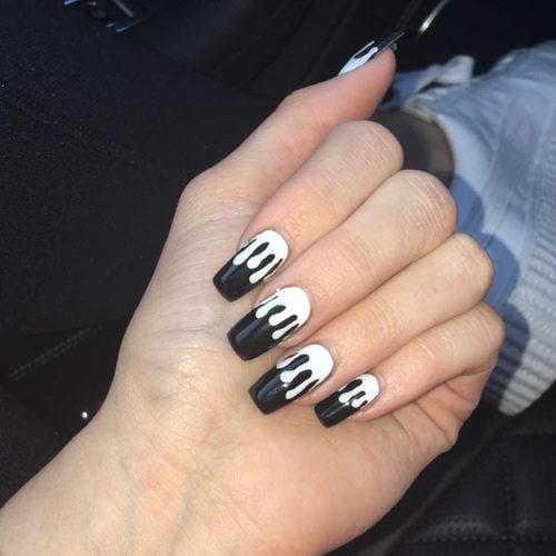 Kylie Jenners Nail Polish Nail Art Steal Her Style Page 2