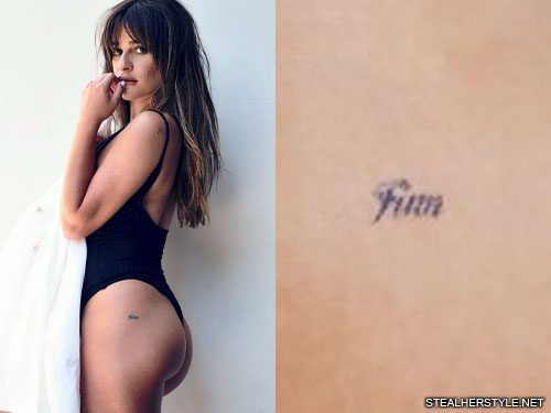 22 Celebrity Butt Tattoos Steal Her Style