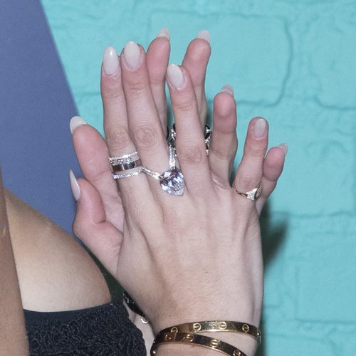Hilary Duff Nude Nails | Steal Her Style