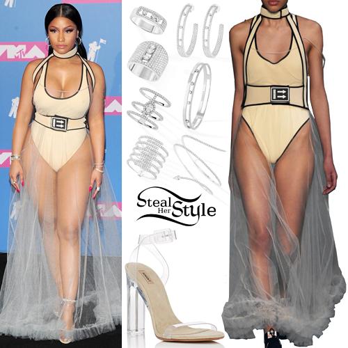 805553ac185 Nicki Minaj  2018 MTV VMAs Outfit