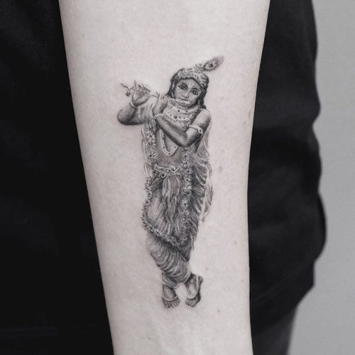 Tattoo Designs Krishna Name: 682 Celebrity Forearm Tattoos