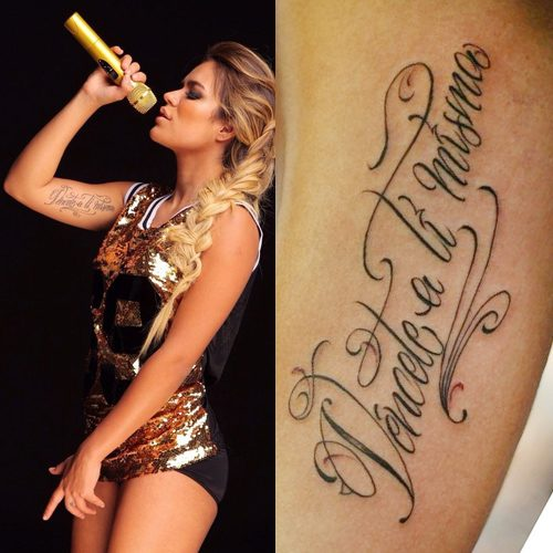 Karol Gs 9 Tattoos Meanings Steal Her Style