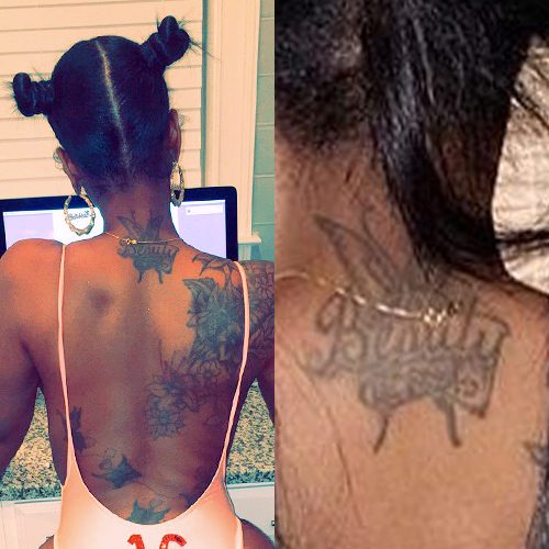 Kash Doll S 10 Tattoos Meanings Steal Her Style