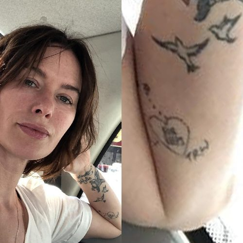 Lena Headeys 13 Tattoos Meanings Steal Her Style