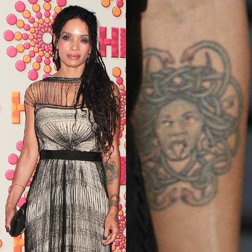 Lisa Bonet Medusa Forearm Tattoo Steal Her Style