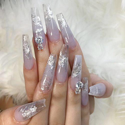 92 Celebrity Lavender Nail Polish Photos