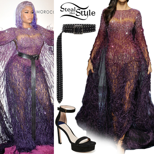 Nicki Minaj Clothes Amp Outfits Steal Her Style