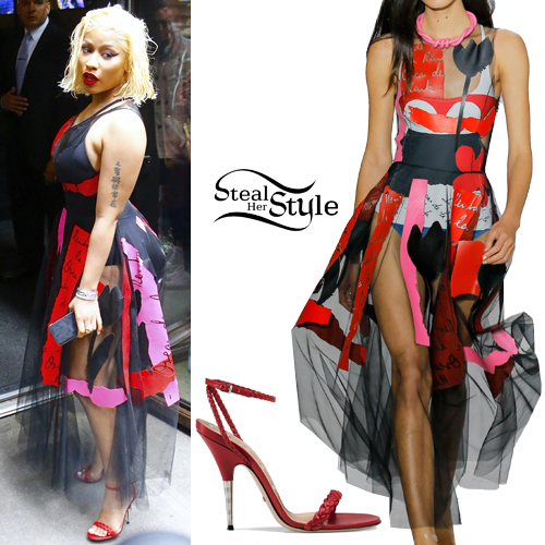 483b2335 Nicki Minaj Clothes & Outfits | Steal Her Style