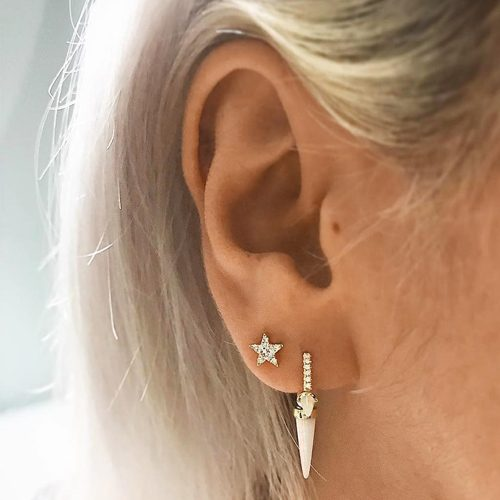 Celebrity Ear Body Piercings Steal Her Style