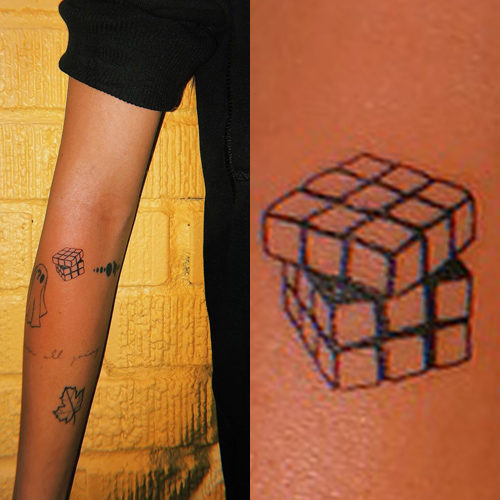 5b181f8c6 33 Celebrity Geometric Design Tattoos | Steal Her Style