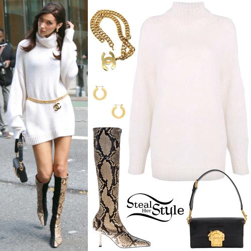 872acdb5753 Bella Hadid  Turtleneck Sweater