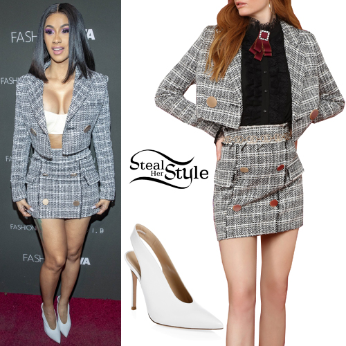 d5c2b3b13a Cardi B at the Fashion Nova x Cardi B Collaboration Launch Event. November  14th