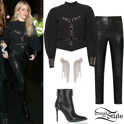Ellie Goulding S Fashion Clothes Amp Outfits Steal Her Style
