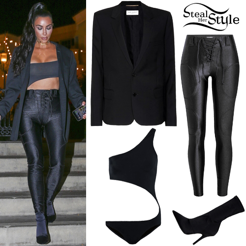 f1ebdf5cf Kim Kardashian Clothes & Outfits | Steal Her Style