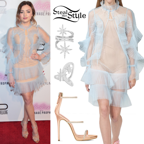 d8251cd88 Peyton List Clothes & Outfits | Steal Her Style
