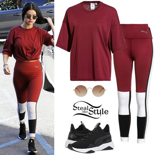 91a1838c6da Selena Gomez  Burgundy Tee