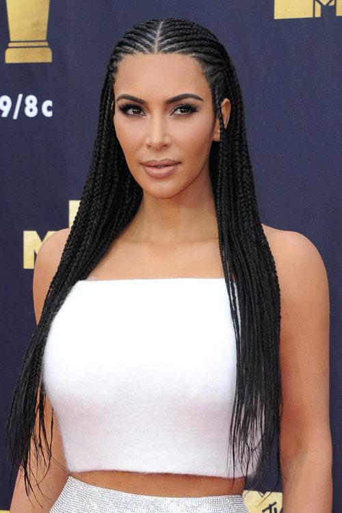 f90ffde6243 Kim Kardashian's Hairstyles & Hair Colors | Steal Her Style