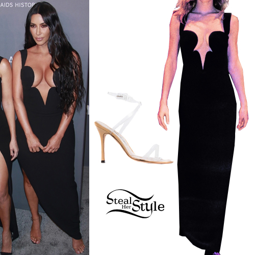 da033470dc3b Kim Kardashian at the 21st annual amfAR Gala New York. February 6th