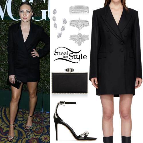 Maddie Ziegler: 2019 Teen Vogue Party Outfit | Steal Her Style