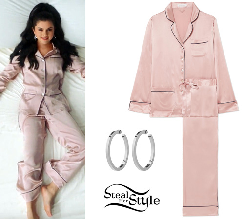"6aeb9f0e595 Selena Gomez  ""I Can t Get Enough"" Video Outfit"