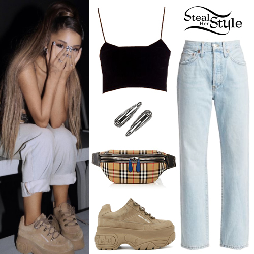 27655ce8313b Ariana Grande's Clothes & Outfits | Steal Her Style