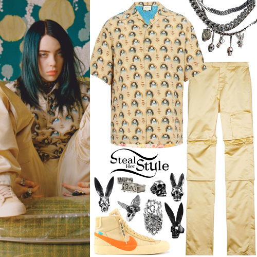 competitive price 50c94 ccda0 Billie Eilish Clothes & Outfits | Steal Her Style