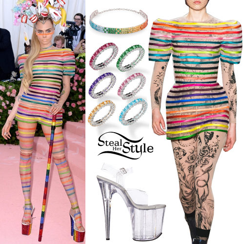 Cara Delevingne 2019 Met Gala Outfit Steal Her Style