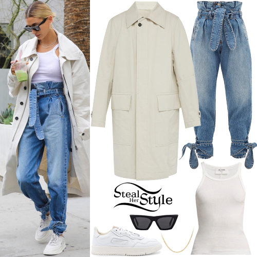 b79f98f35694 Hailey Baldwin Clothes & Outfits | Steal Her Style