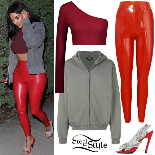 Kim Kardashian Clothes Outfits Steal Her Style