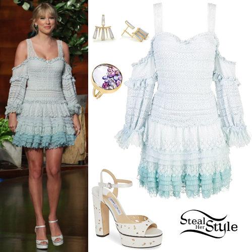 a3286f3548e0 Taylor Swift on The Ellen DeGeneres Show. photo: Michael Rozman/Warner Bros.
