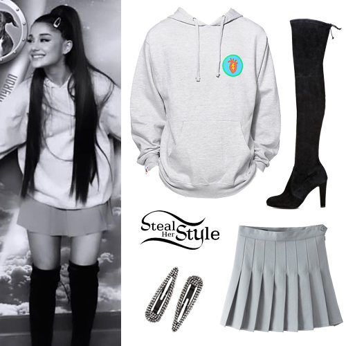 2648a47d8 Ariana Grande's Clothes & Outfits | Steal Her Style