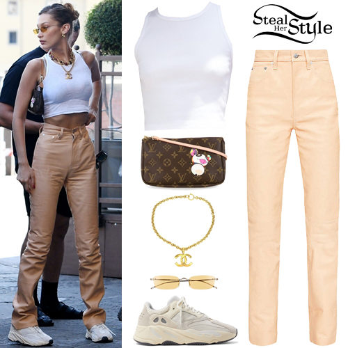 Bella Hadid Clothes Outfits Steal Her Style