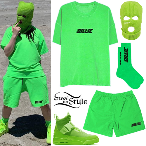 Billie Eilish Neon Green Outfit Steal Her Style
