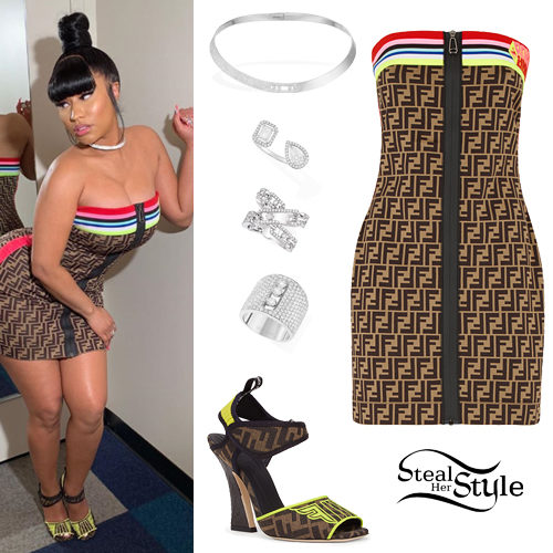 fdd6d9260 Nicki Minaj Clothes & Outfits | Steal Her Style