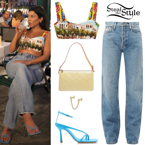 287a68681 Kourtney Kardashian Clothes & Outfits | Steal Her Style
