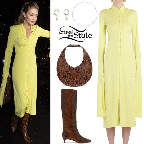 yellow dress boots