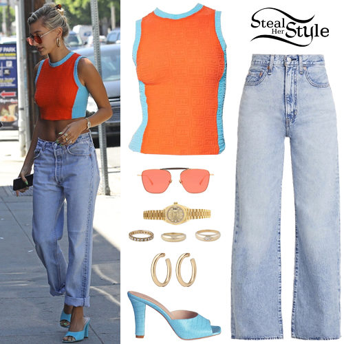 Hailey Baldwin Clothes & Outfits | Steal Her Style